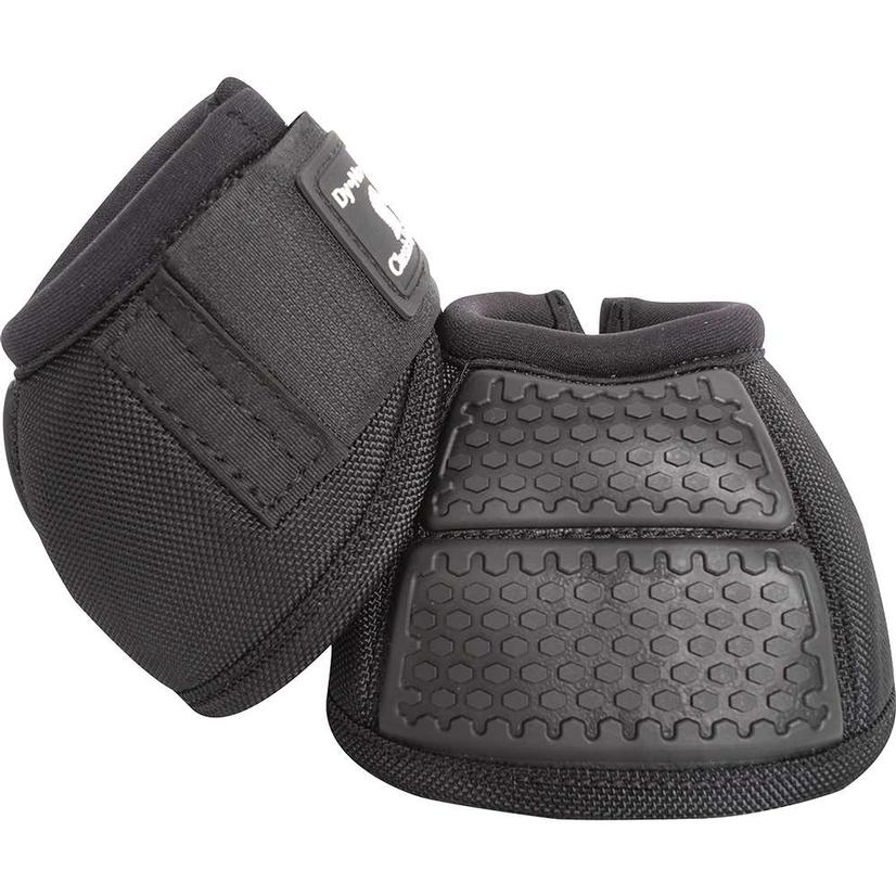 Classic Equine Flexion No Turn Bell Boots BLACK