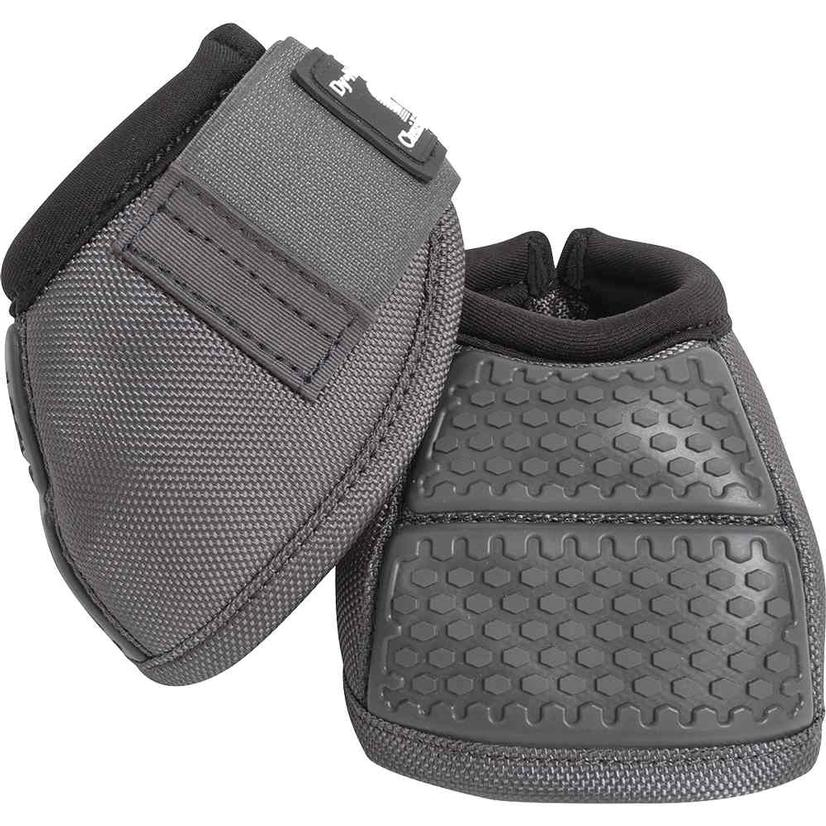 Classic Equine Flexion No Turn Bell Boots CHARCOAL