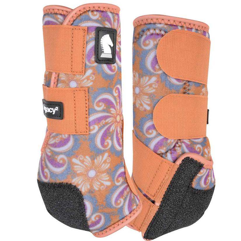 Classic Equine Legacy2 Hind Sport Boots Pinwheel 2021