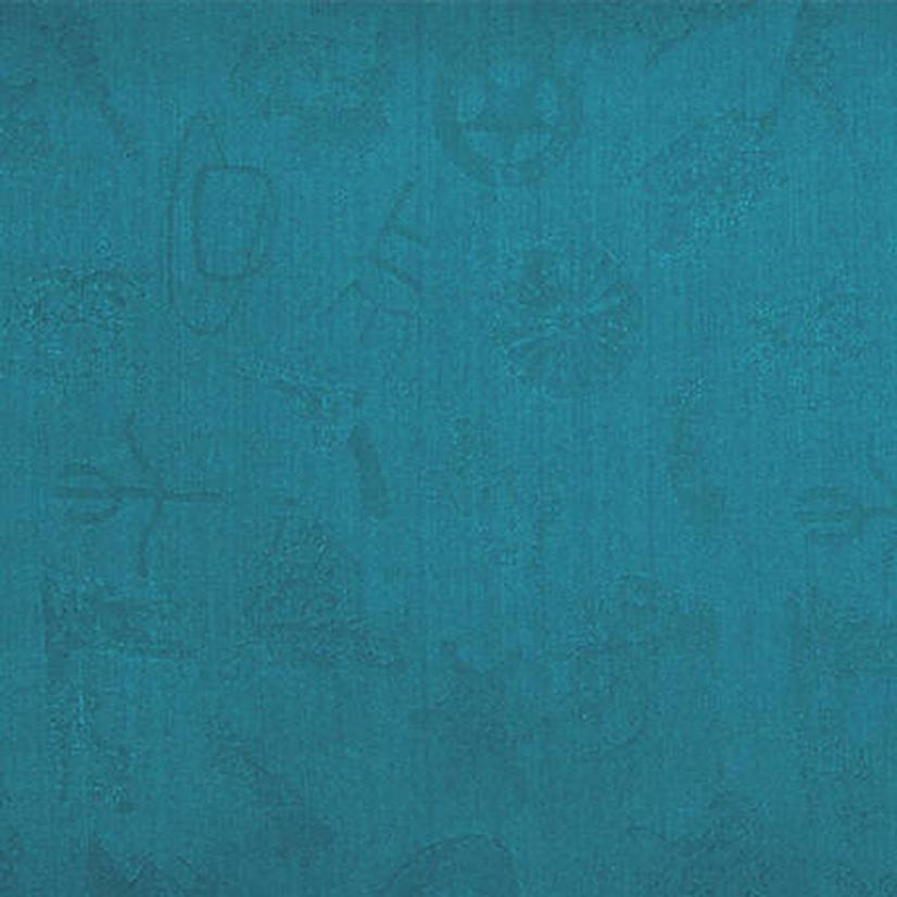 Cowboy Logo Silk Wild Rag - Assorted Colors AQUA
