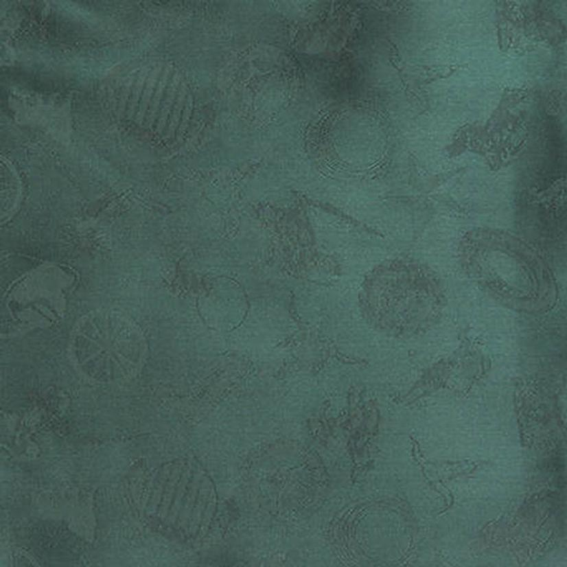 Cowboy Logo Silk Wild Rag - Assorted Colors EUCALYPTUS