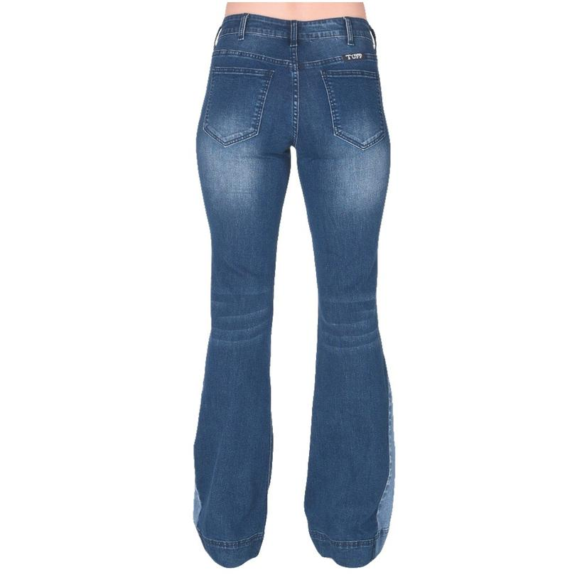 Cowgirl Tuff Funky Contrast Trouser Jeans