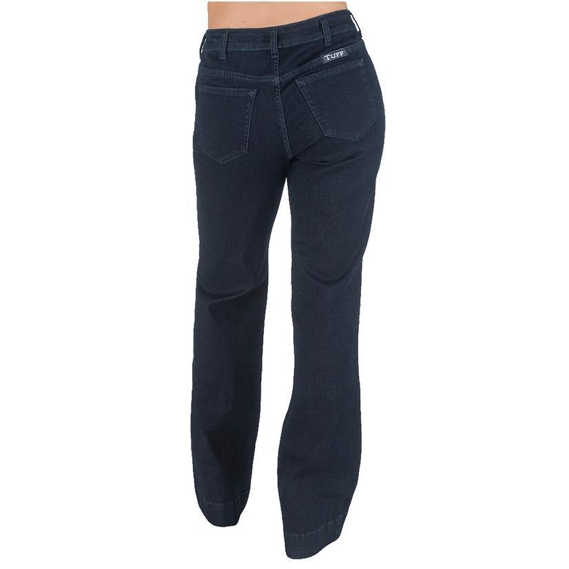 Cowgirl Tuff Date Night Dark Wash Women's Trouser Jeans