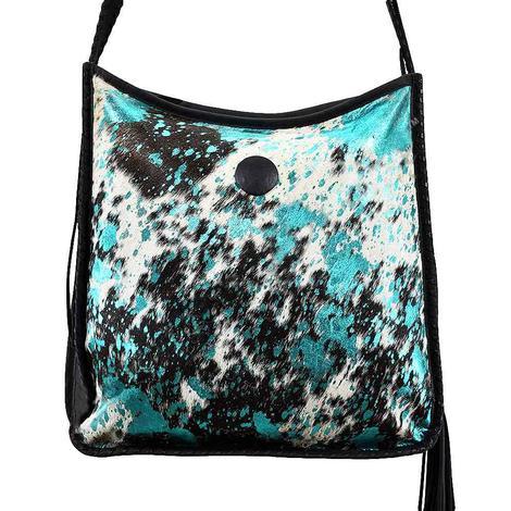 American Darling Acid Wash Turquoise Bag