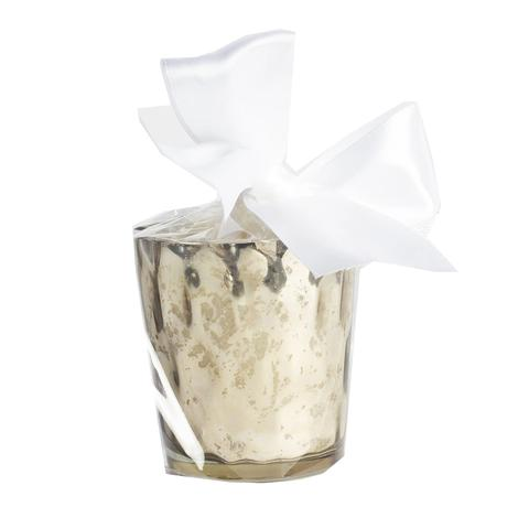 B's Knees Celebrate Scented Mercury Votive Glass Filled Candle