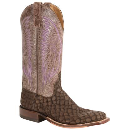 Anderson Bean Women's Purple Winged Exotic Loch Ness Cowboy Boots