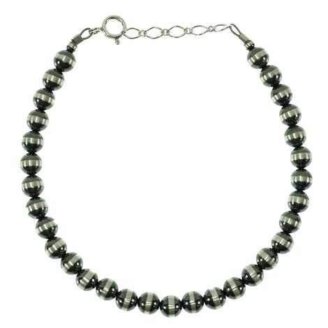 Navajo Pearl Bracelet -Silver