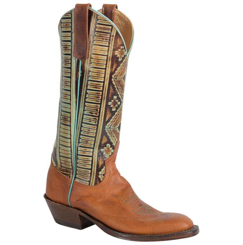 Anderson Bean Women's Turquoise Goat Boots