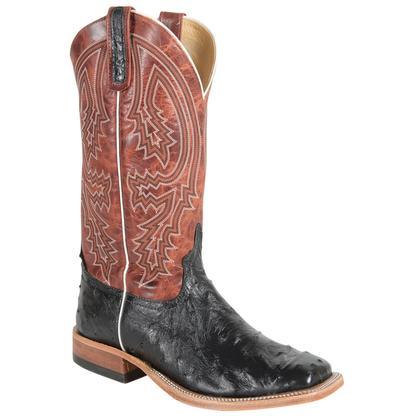 Anderson Bean Men's Rust Lava Top Boots