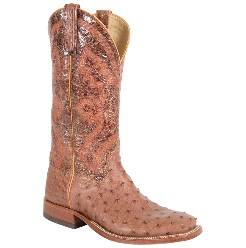 Anderson Bean Men's Rum Mad Dog Full Quill Ostrich Boots