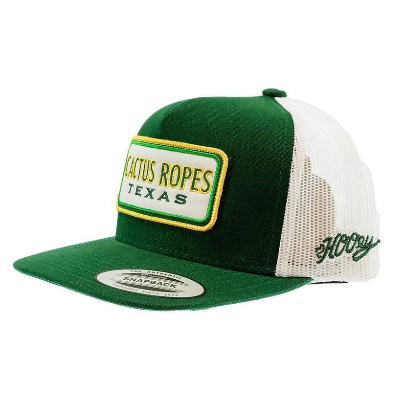 Cactus Ropes Green White Trucker Meshback Cap