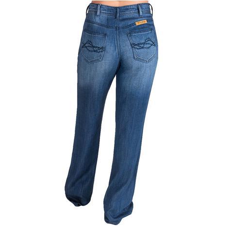 Cowgirl Tuff Unwind Wide Trouser Women's Jeans