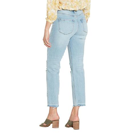 Dear John Denim Jodi Highrise Straight Davenport Wash Women's Jeans