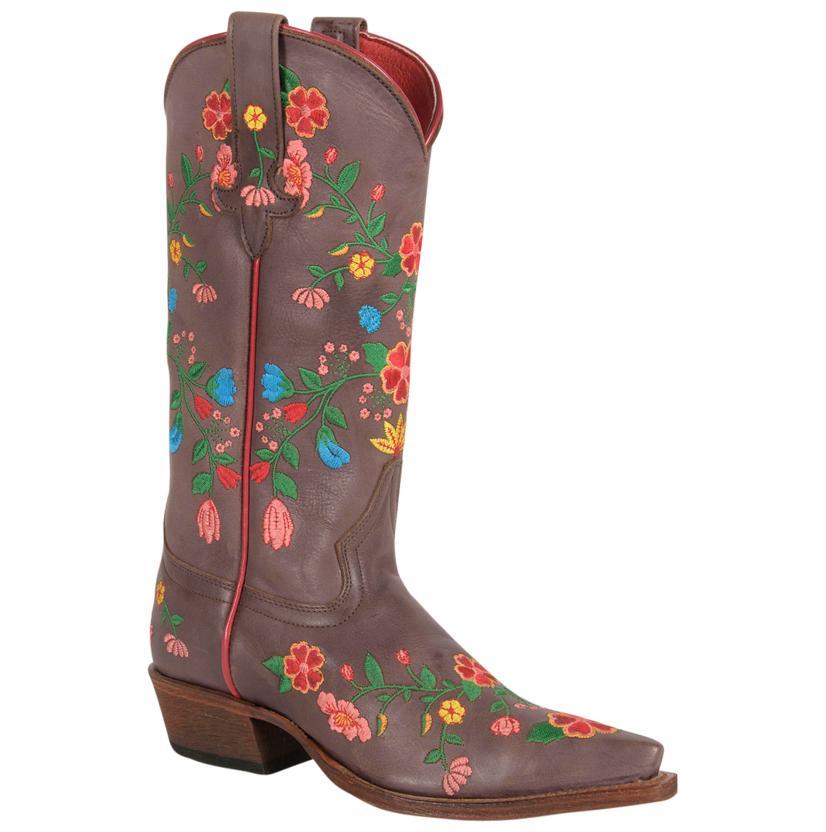 Macie Bean Women's Jambalaya Embroidered Boots