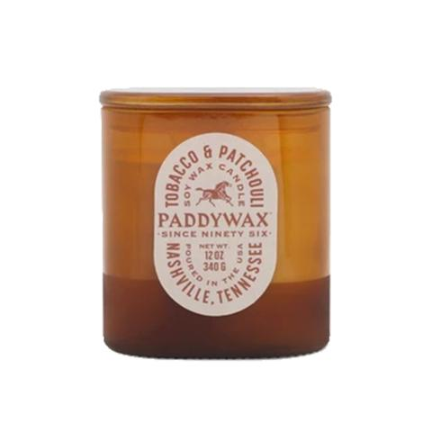 Paddywax Vista Tobacco and Patchouli 12oz Soy Candle