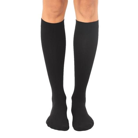 Black Compression Socks by Living Royal