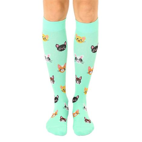 Cat Compression Socks by Living Royal