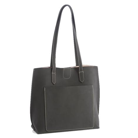 Blair Day Tote In Black by Shiraleah