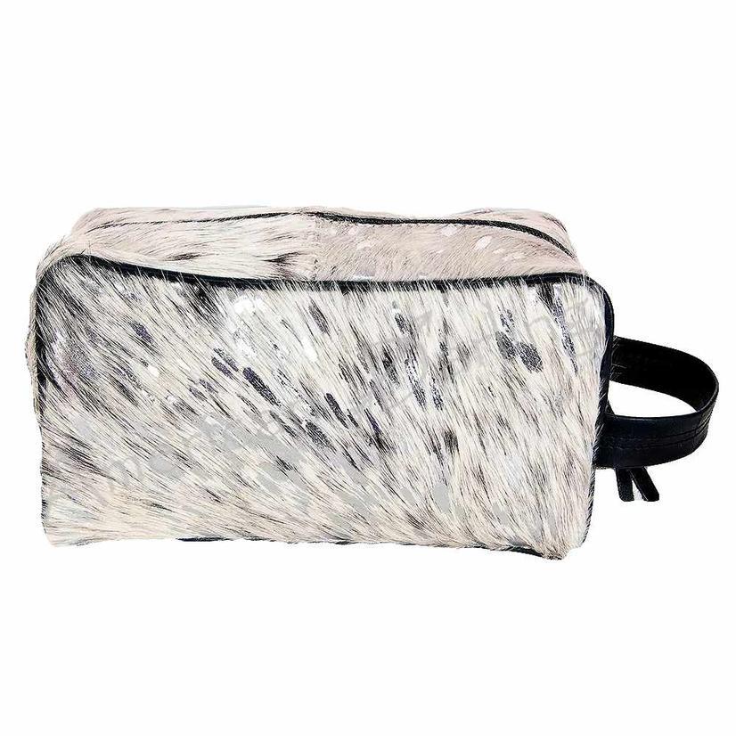 American Darling Bag Acid Wash Silver Shave Kit