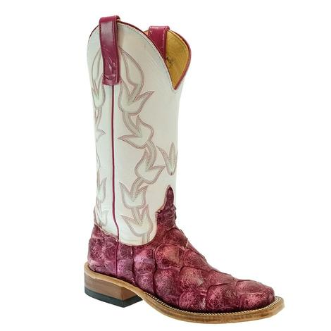 Anderson Bean Hot Pink Shaved Big Bass Color Changing Women's Boots