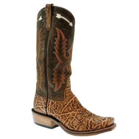 Rios of Mercedes Terra Vintage Elephant Chocolate Dynatan Top Men's Boots