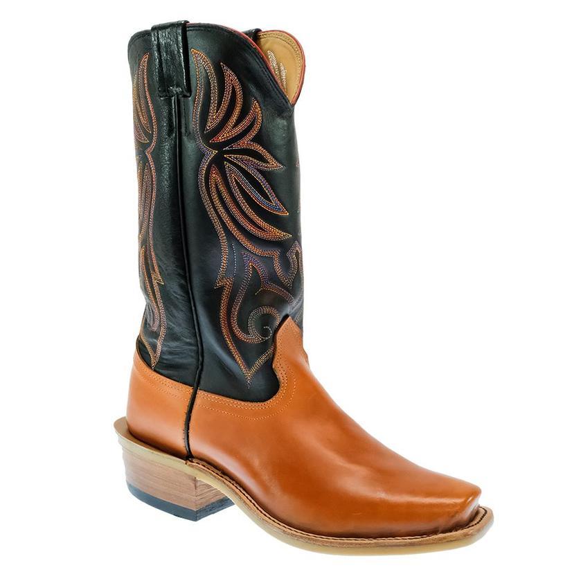 Fenoglio Russet Boomer Orange And Black Women's Boots