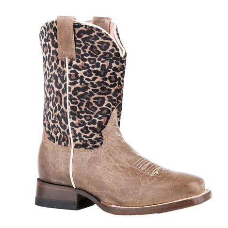 Roper Cheetah Girl's Boots