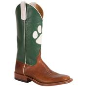 Anderson Bean Women's Cub Green Paw Print Boots