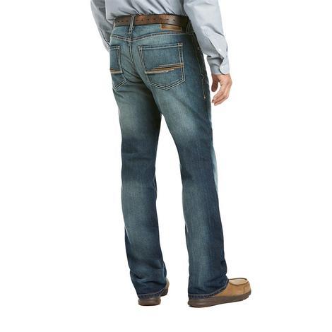 Ariat M5 Slim Patterson Stackable Straight Leg Men's Jeans