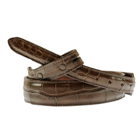 STT Custom Exotic Men's Brown Belt