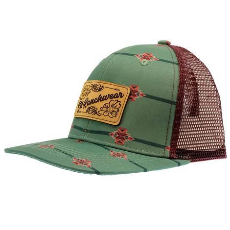 STS Ranchwear Aztec Print Cap