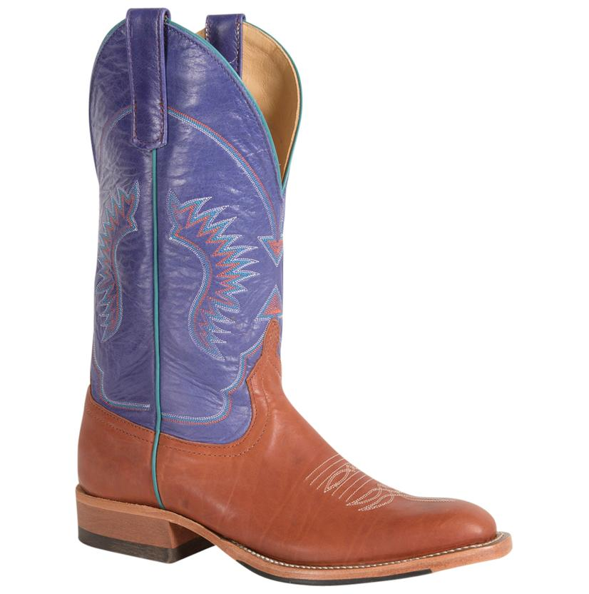 Anderson Bean Womens Lovin Purple Top Round Toe Boots