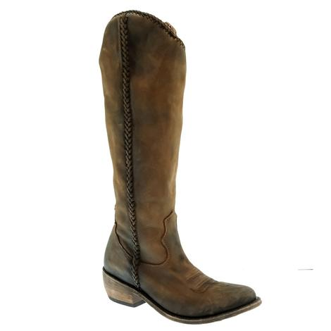 Liberty Black Zoe Vegas Tall T-Moro Women's Boots