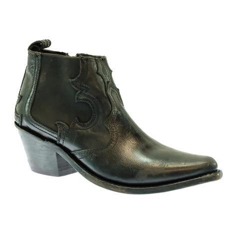 Liberty Black Mossil Negro Lynn Women's Shortie Boots