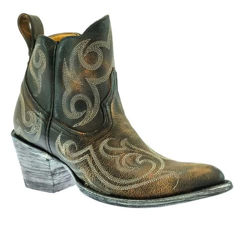 Old Gringo Dion Shedro Rust Women's Shorty Boots