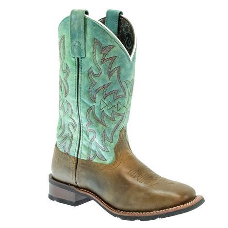 Laredo Anita Brown Teal Women's Boots