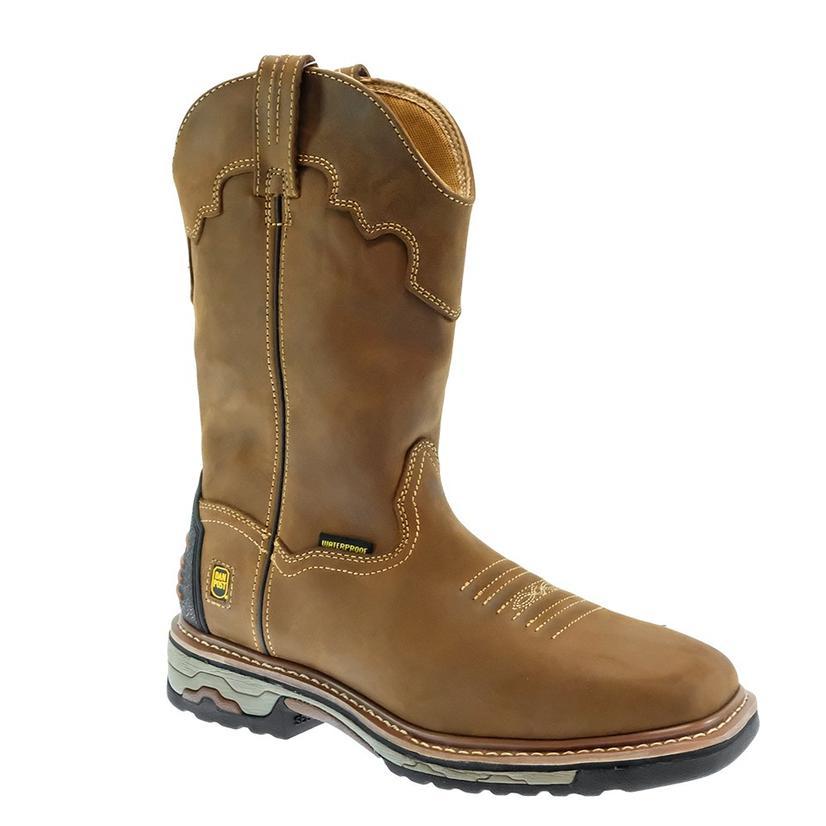 Dan Post Blayde Soft Toe Waterproof Tan Men's Work Boots