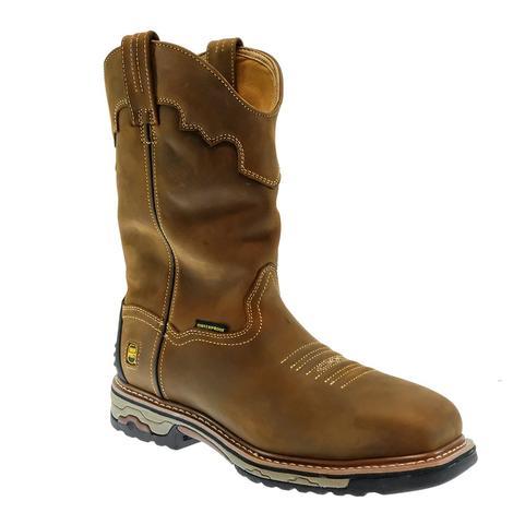 Dan Post Blayde Steel Toe Waterproof Tan Men's Boots