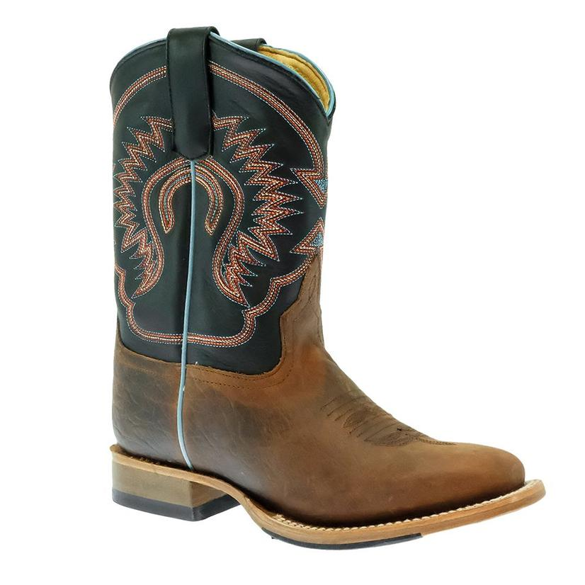 Horse Power Black Ranch Kid Boots