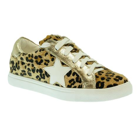 Our Love Letter Cheetah Star Women's Sneakers
