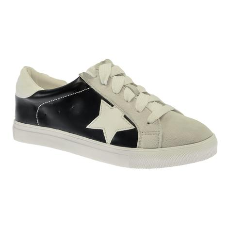 Our Love Letter Black Star Women's Sneakers