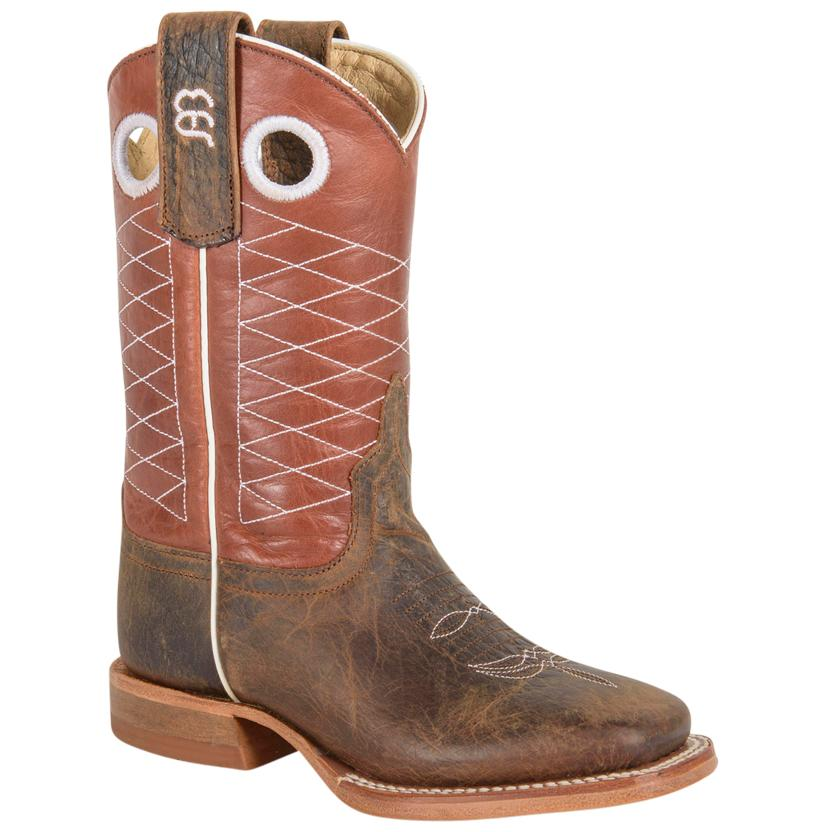 Anderson Bean Toddler And Kids ' Toasted Bison Boots