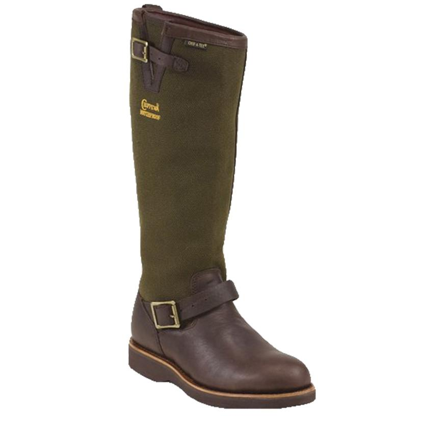 Chippewa Brome Brown 17inch Waterproof Men's Snake Boots