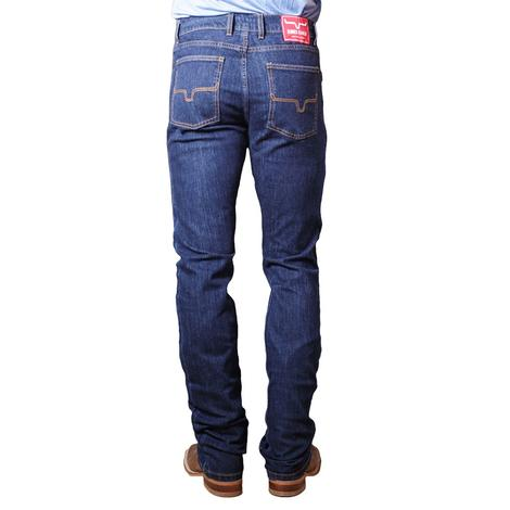 Kimes Ranch Low Rise Straight Fit Straight Leg Button Fly Men's Jeans