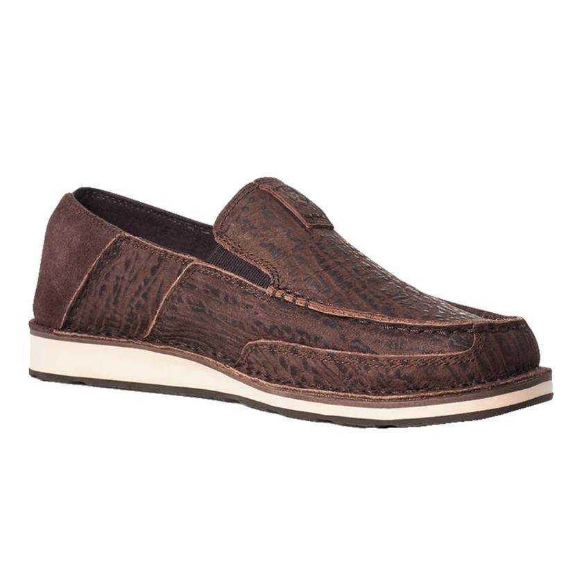 Ariat Chocolate Suede Men's Cruiser Shoes