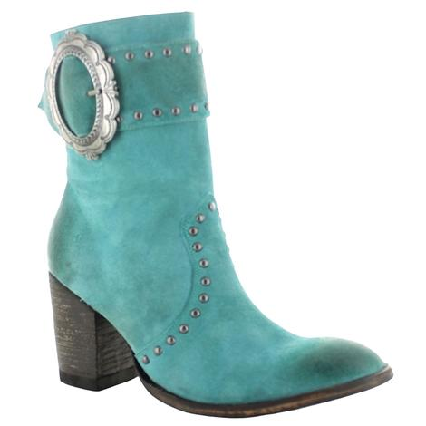 Old Gringo Turquoise Segovia Women's Shortie Boots