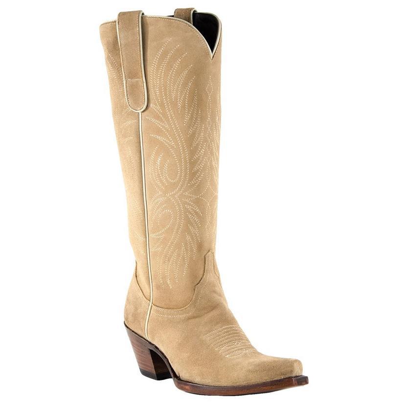 Azulado Stella Sand Suede Tonal Women's Boots