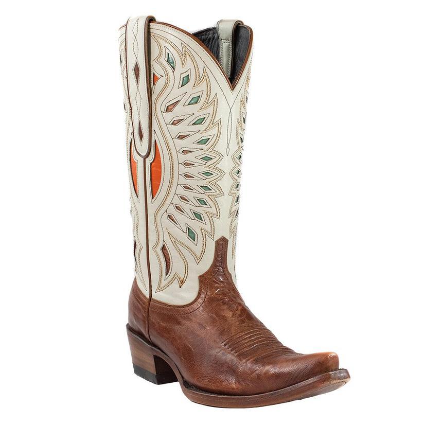 Azulado Haden Cream Tan Goat Women's Boots