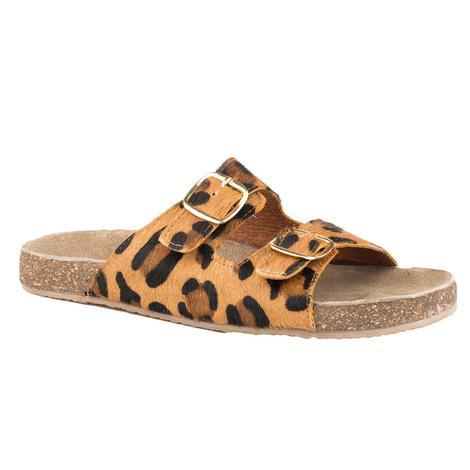Roper Leopard Hair on Hide Women's Sandals