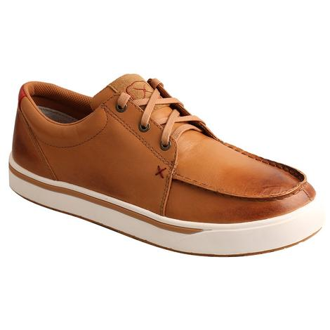 Twisted X Leather Lace Up Men's Kicks